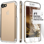 SaharaCase CL-A-I7P-CL Clear Protective Kit for iPhone 8-7 Plus (Crystal Clear)