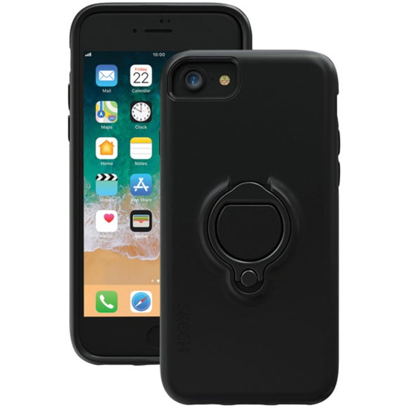 SKECH SK29-VTX-BLK Vortex Case for iPhone 8-7-6s (Black)