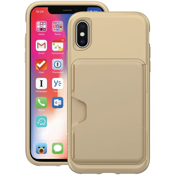 SKECH SK41-CHE-CHP Cache Case for iPhone X (Champagne)
