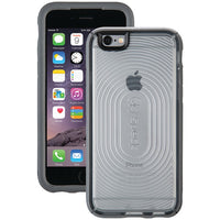 Speck 73801-C107 MightyShell Case for iPhone 6-6s (Clear-Slate Gray)