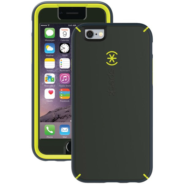Speck 74080-5049 MightyShell Case + Faceplate for iPhone 6-6s (Dusty Green-Antifreeze-Charcoal Gray)