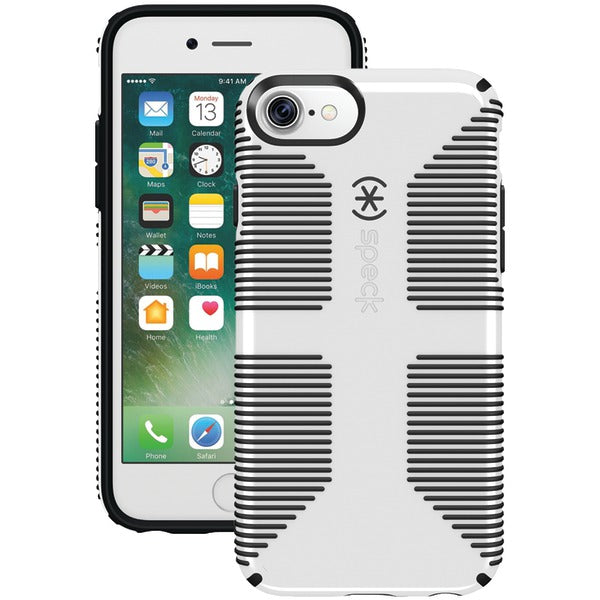 Speck 79239-1909 CandyShell Grip Case for iPhone 7 (Black-White)