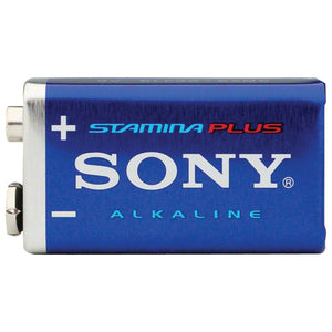 Sony(R) S-6AM6B1A STAMINA(R) PLUS Alkaline Batteries (9V; Single)