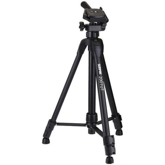 Tripod with 3-Way Pan Head (Folded height: 18.5