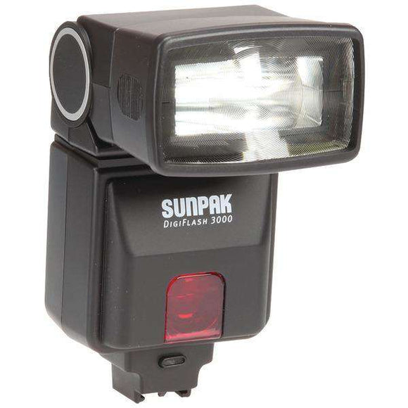 Sunpak(R) DF3000SX DF3000 Digital Flash for Sony(R) Alpha DSLR Cameras
