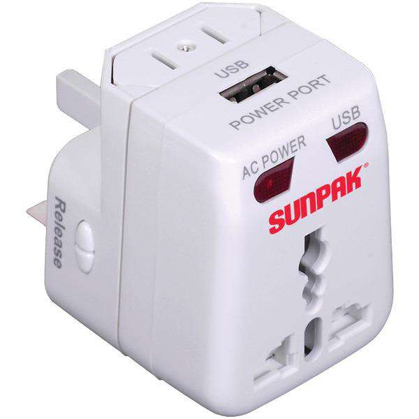 Sunpak(R) TRAVEL-ADAPT Universal Travel Adapter