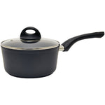 Starfrit(R) 030878-006-0000 Aroma 1.4-Quart Saucepan with Glass Lid