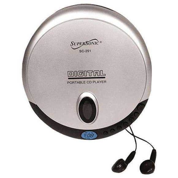 Supersonic(R) SC-251 Personal CD Player