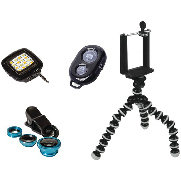 Posersnap PoserSnap 98555 Mobile 6 Piece Photo & Video Set