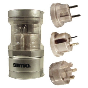 Sima SIP-3 International Compact Travel Power Plug Set