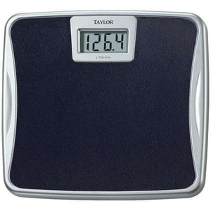 Taylor Precision Products 73294072 Silver Platform Lithium Electronic Digital Scale