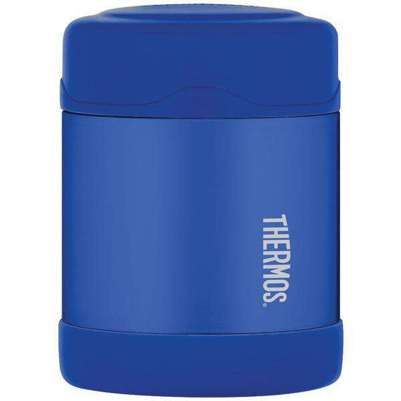 Thermos(R) F3003BL6 Stainless Steel Vacuum Insulated Food Jar, 10oz (Blue)