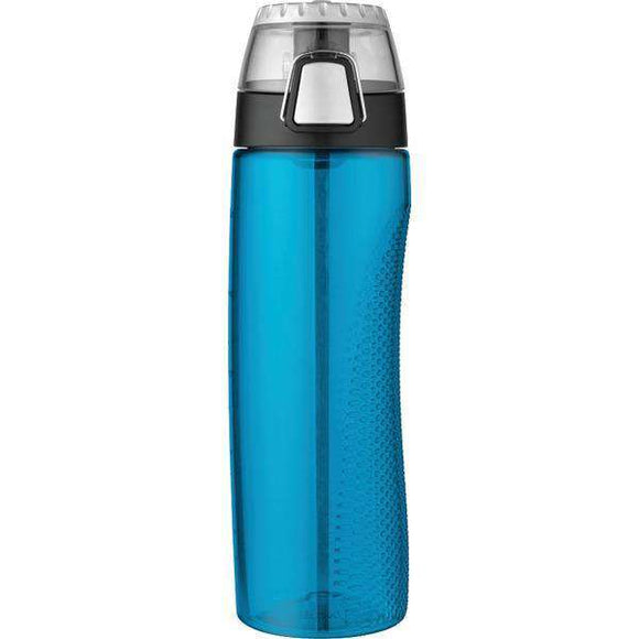 Thermos(r)-Thermos(R) HP4100TLTRI6 Tritan Hydration Bottle with Meter, 710ml (Teal)