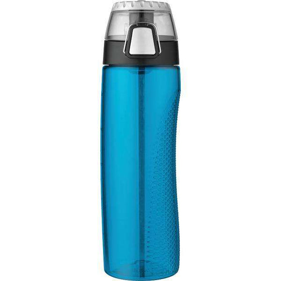 Thermos(R) HP4100TLTRI6 Tritan Hydration Bottle with Meter, 710ml (Teal)