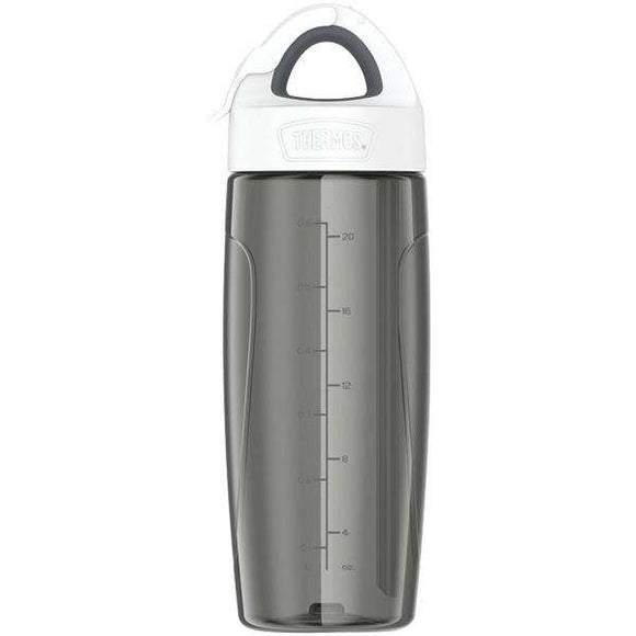 Thermos(R) TP4706SM6 Eastman Tritan(TM) Sport Bottle with Covered Straw, 24oz (Gray)