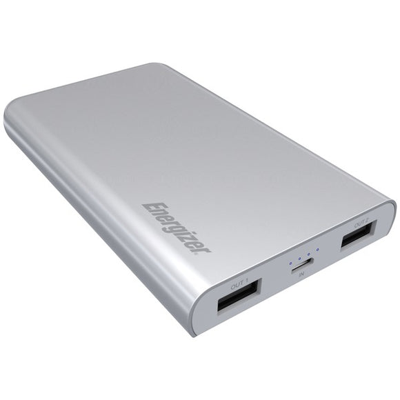 Energizer Energizer UE8003 GY UE8003 High Tech SilkPower 8,000mAh Power Bank (Silver)