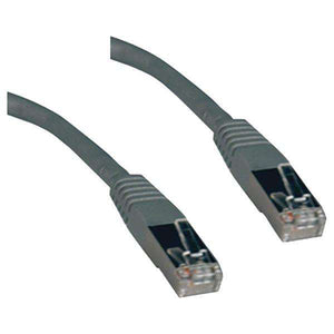 Tripp Lite(R) N105-050-GY CAT-5E Molded Shielded Patch Cable, STP (50ft)