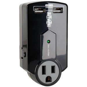 Tripp Lite SK120USB Protect It 3-Outlet Surge Protector with USB Ports