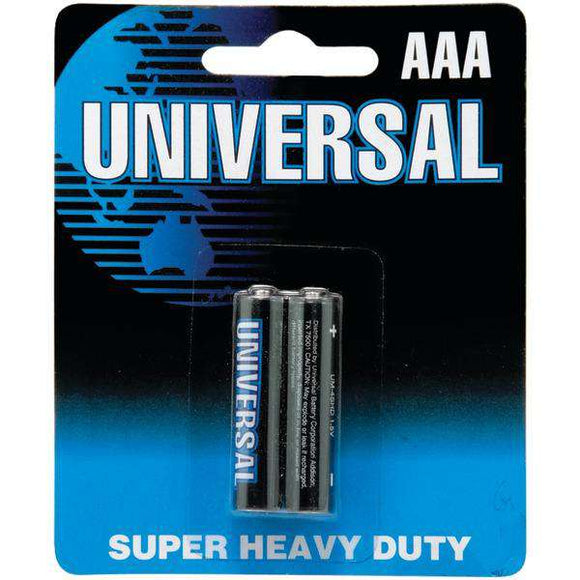 UPG(TM) D5931-D5331 Super Heavy-Duty Batteries (AAA; 2 pk)
