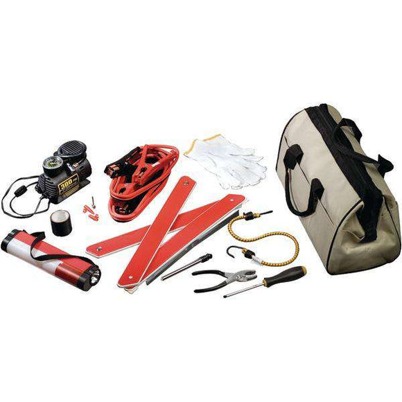 UPG 86039 Emergency Road Kit with Air Compressor