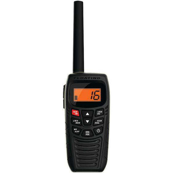 Uniden(R) ATLANTIS 270 Floating Handheld 2-Way Marine Radio