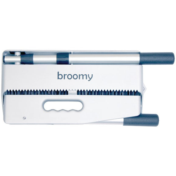 Broomy BRM01-SIL Broom & Dustpan