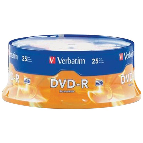 4.7GB DVD-Rs (25-ct Spindle)
