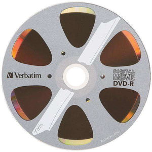 Verbatim(R) 97946 4.7GB 120-Minute DigitalMovie(R) DVD-Rs, 10 pk