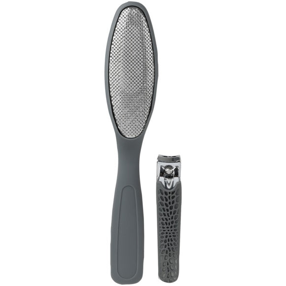2-in-1 Personal Care Tools (Gray)