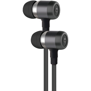 at tr pe50 gry pe50 in ear stereo earbuds with microphone gray