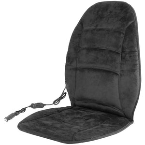 12-Volt Deluxe Velour Heated Seat Cushion(TM)