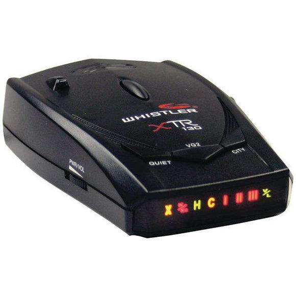 Whistler XTR-130 XTR-130 Laser-Radar Detector with Bright Icon Display