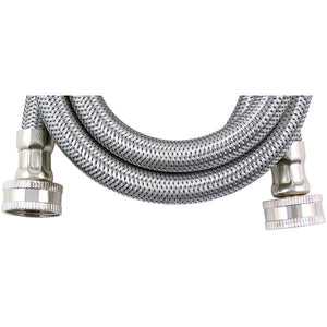 Certified Appliance Accessories(r) Certified Appliance Accessories(R) WM96SS Braided Stainless Steel Washing Machine Hose, 8ft