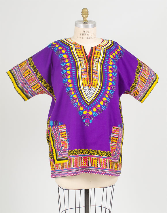 Step in Style AA16673 Dashiki Top