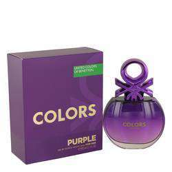 United Colors Of Benetton Purple Eau De Toilette Spray By Benetton