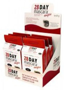 Godefroy 28 Day Mascara Singles 6-Piece Display - Black