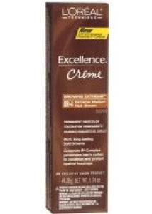 L'Oreal Excellence Creme BR4, Extra Medium Red Brown