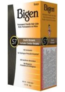 Bigen 57 , Dark Brown