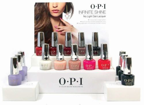 OPI OPI Infinite Shine 16 Piece Counter Display