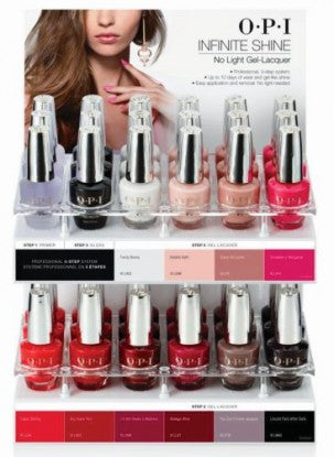 OPI OPI Infinite Shine 36 Piece Counter Display