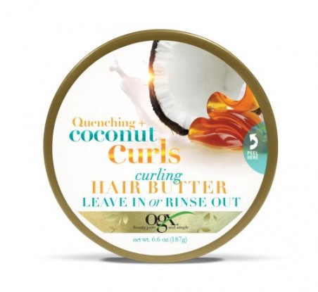 OGX Quenching Coconut Curls Curling Hair Butter