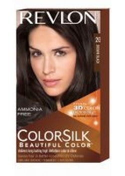 Revlon ColorSilk #20 Brown Black