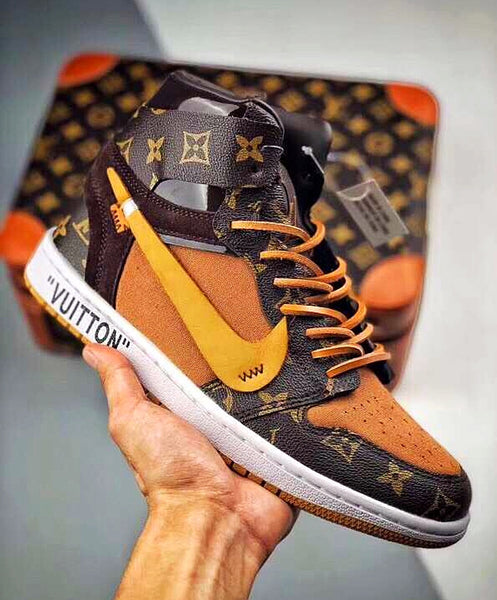 "OFF WHITE X LOUIS VUITTON X AIR JORDAN ""AIR LOUIS"""