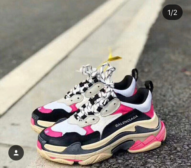 BALENCIAGA TRIPLE S-BEST OF THE UGLY SNEAKERS