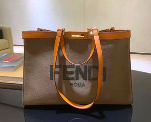Fendi Inspired Peekaboo X Tote Large