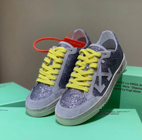 Off White Inspired Glitter Arrow 2.0 Sneakers