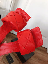 Bottega Veneta Inspired BV Lido Padded Sandals Heels