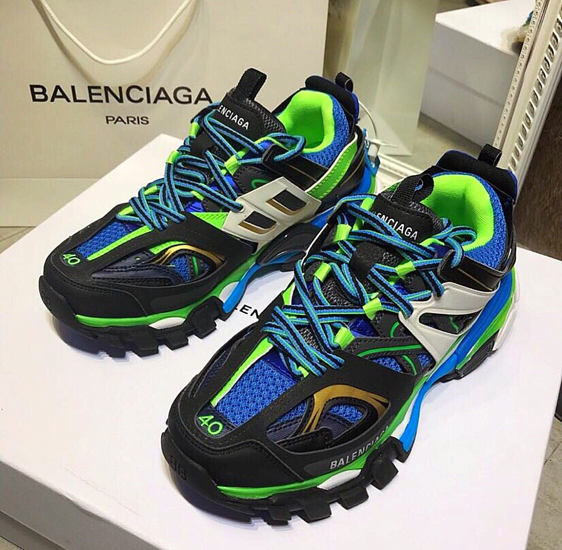 balenciaga track 3 0 LED review yeezydaily net