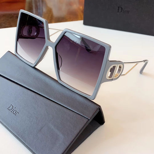 Dior Inspired SP 2020 Square Acetate Sunglasses
