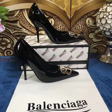 Balenciaga Inspired BB Logo Pumps